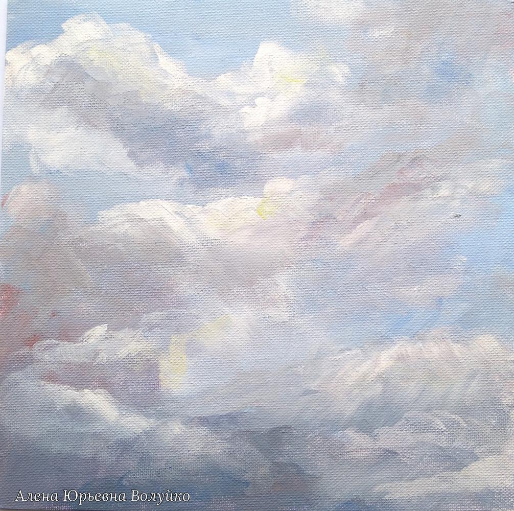 Alena Yurievna Voluyko. The sky in the clouds