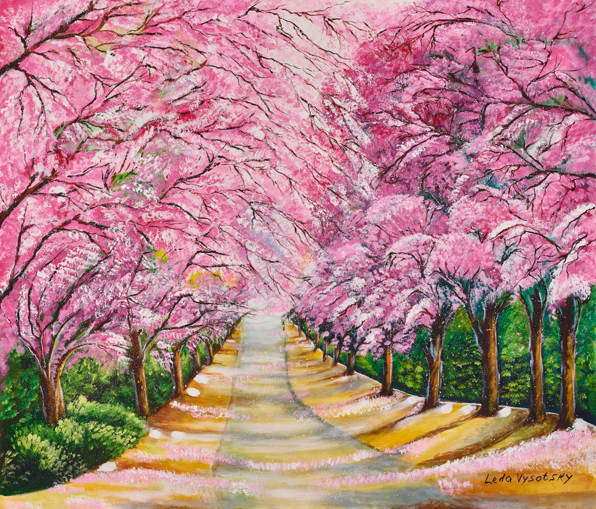 Leda Vysotsky. Sakura Alley