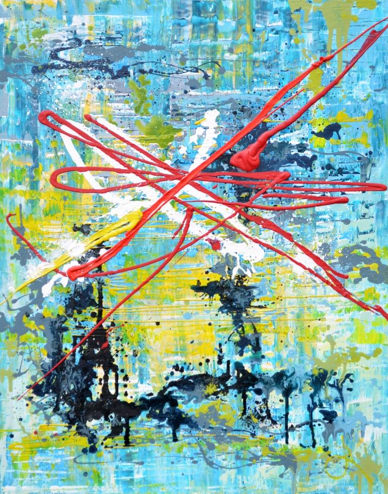 "Tanya Vasilenko. ""Focus"", acrylic, host. Focusing. Acrylic on Canvas."