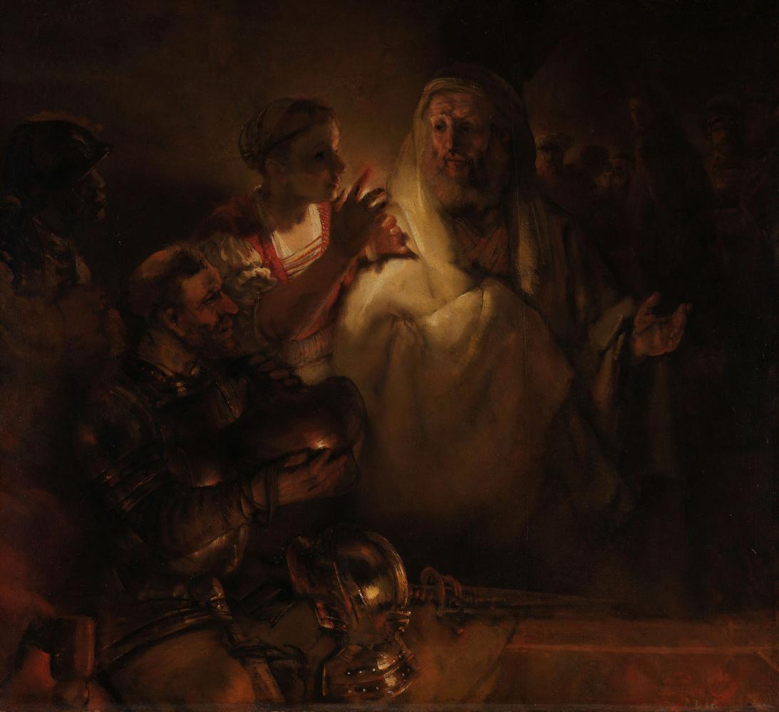Rembrandt Harmenszoon van Rijn. Peter's Denial