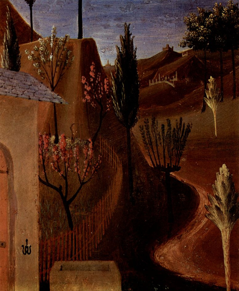 Фра Беато Анджелико. Христос в Гефсиманском саду