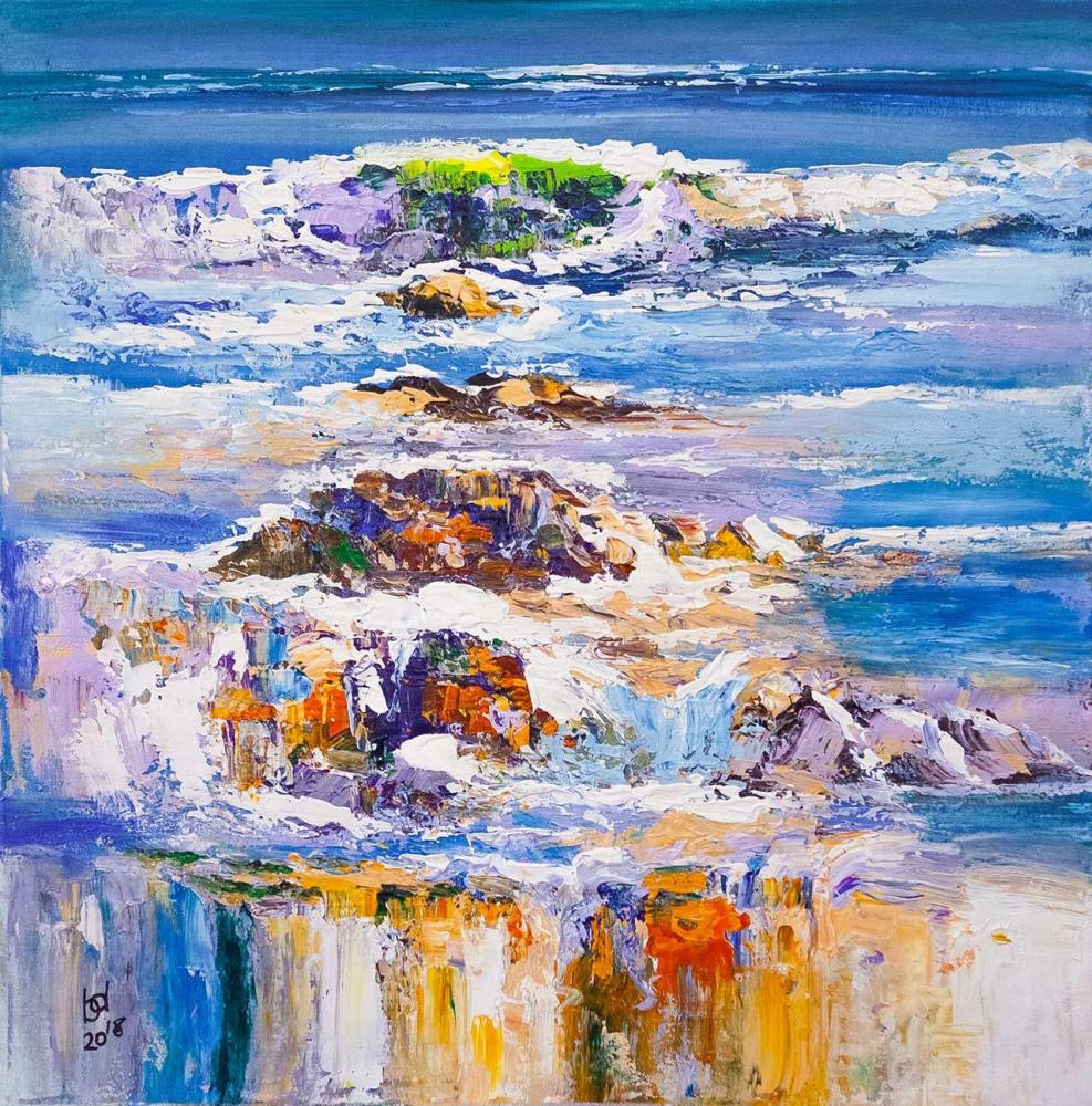 Brian dupre. In the blue sea, in the foamy sea ...