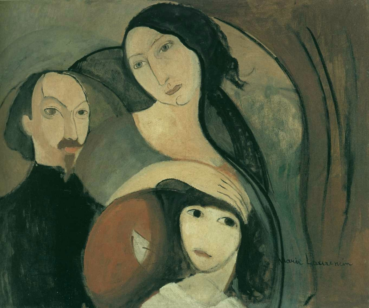 Мари Лорансен. Семья поэта