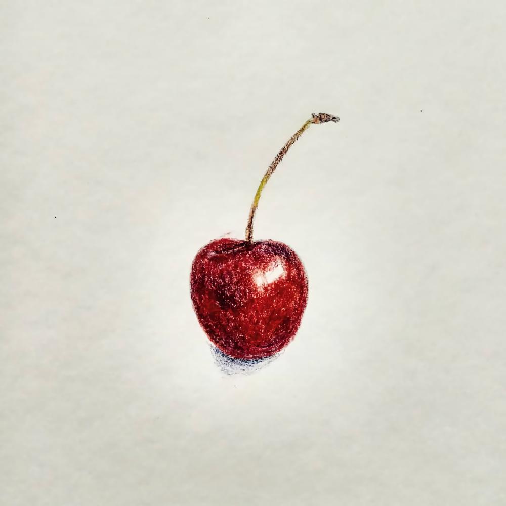 Silvia Purnama. Cherry Colored Pencil