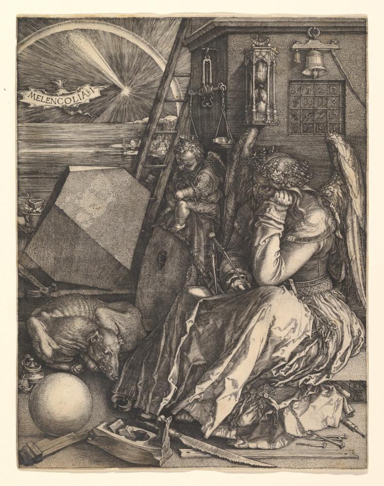 Albrecht Dürer. Melancholy