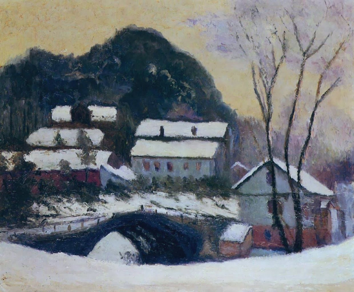 Claude Monet. Sandviken, Norway