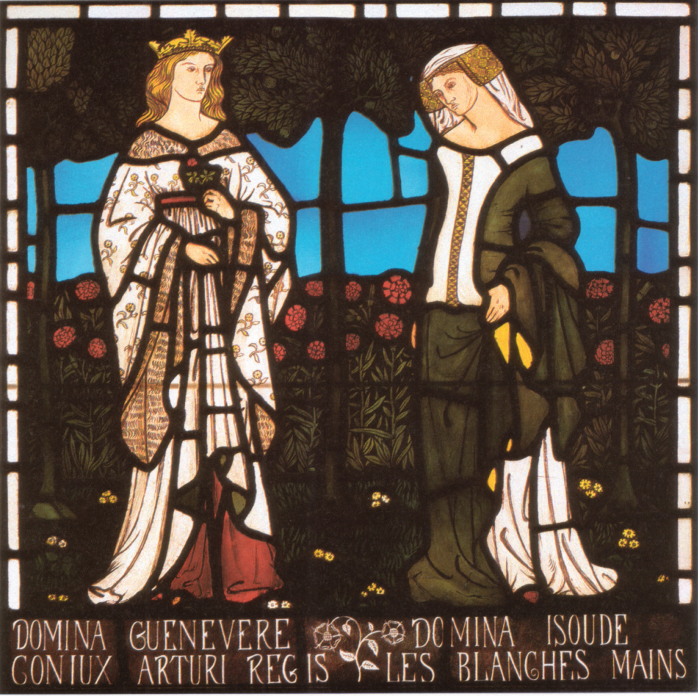 William Morris. The Queen of Guinevere and Isolde