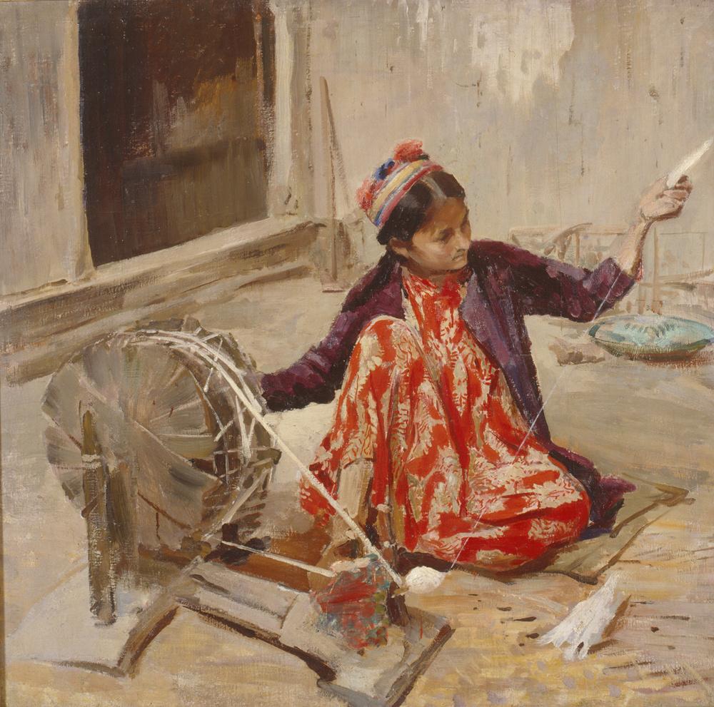 Pavel Petrovich Benkov. Hivinka girl