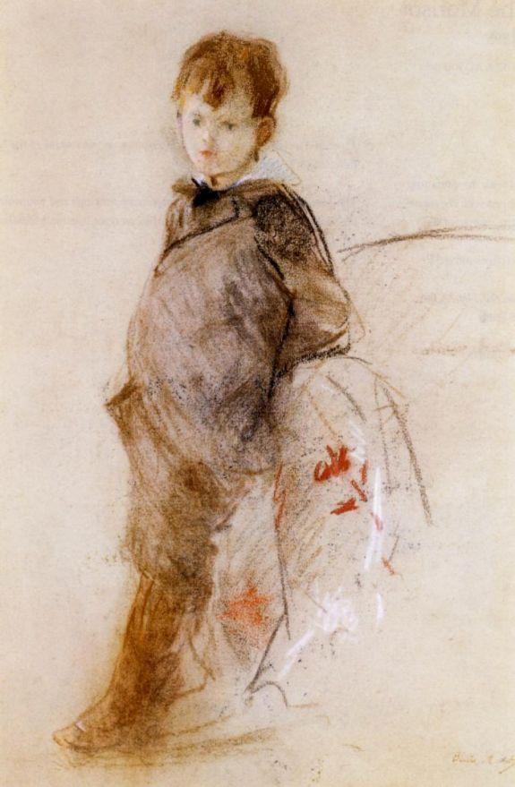 Берта Моризо. Портрет Марселя