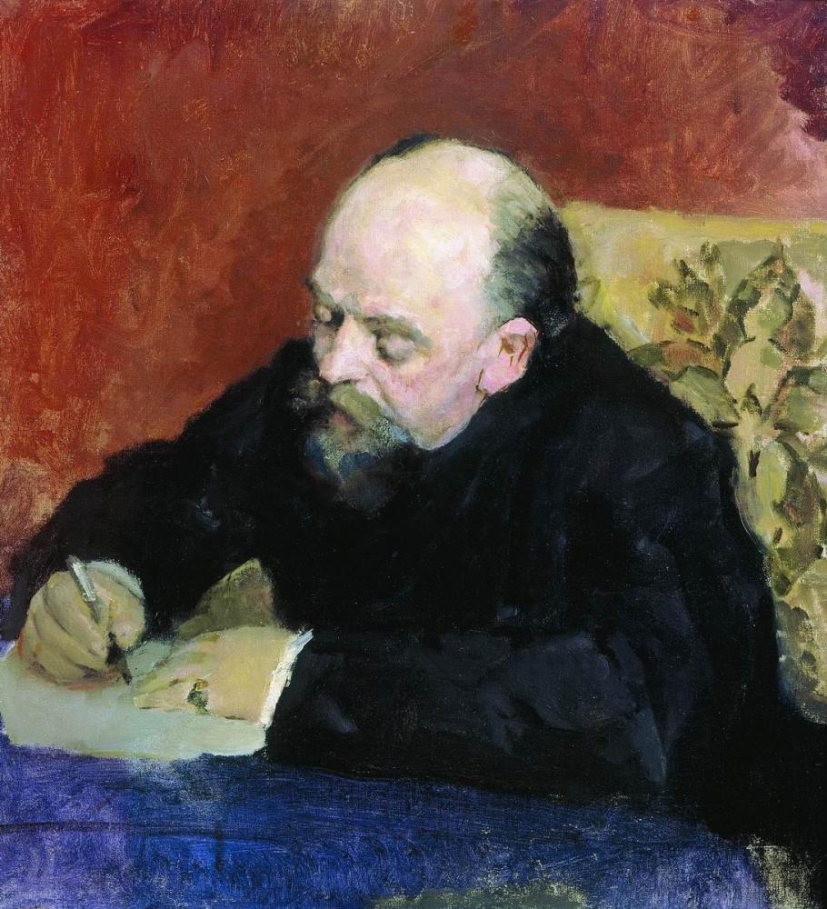 Valentin Serov. Portrait of Savva Mamontov