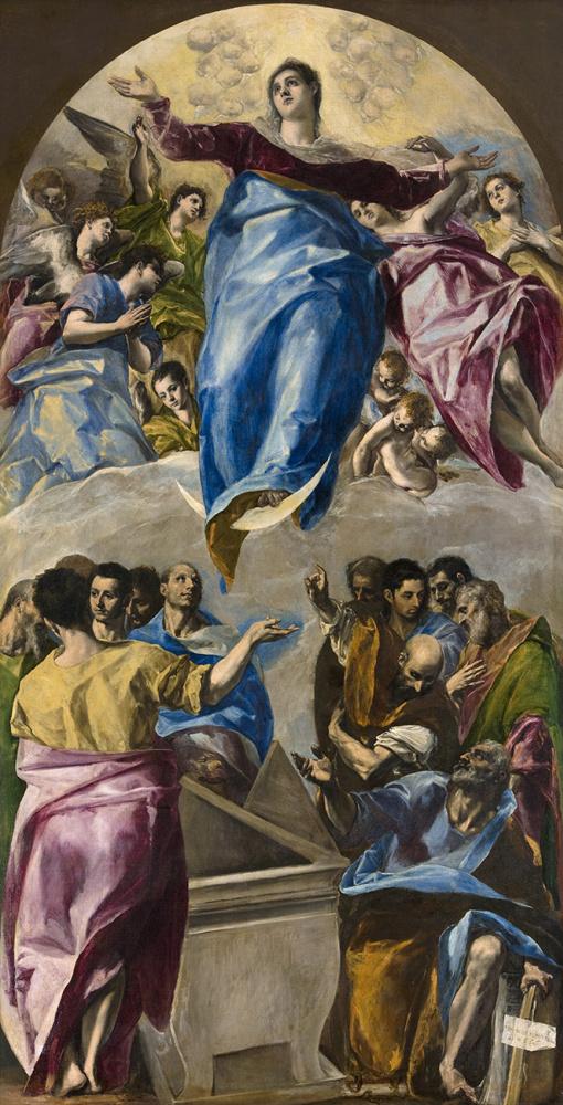 Эль Греко (Доменико Теотокопули). Успение Девы Марии