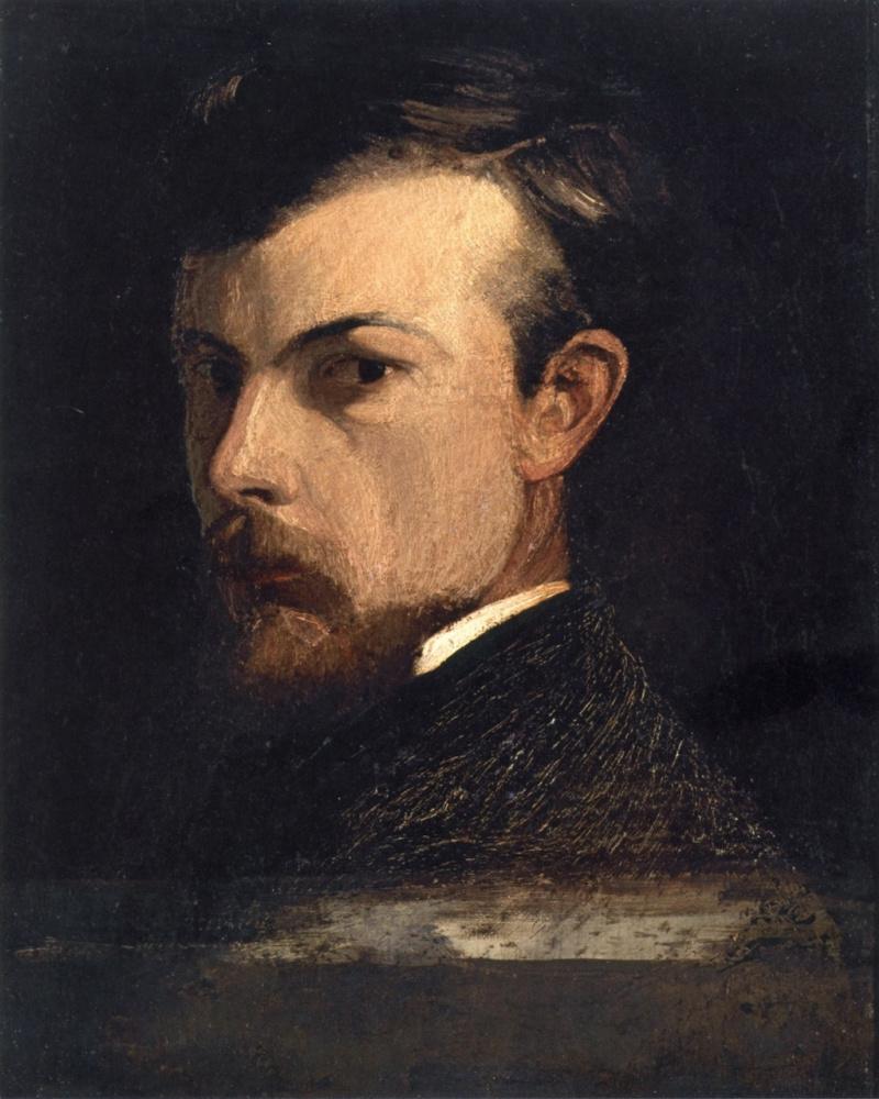 Odilon Redon. Self-portrait