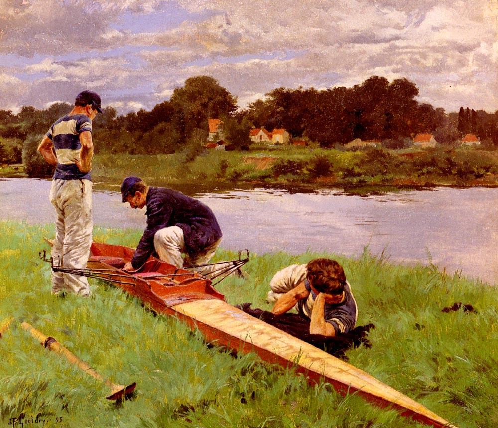 Joseph Ferdinand Gueldri. Repair kayaks