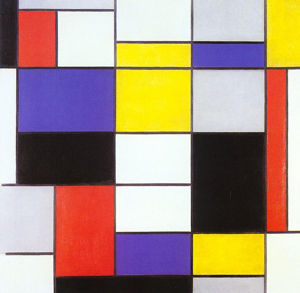 Piet Mondrian. Composition And