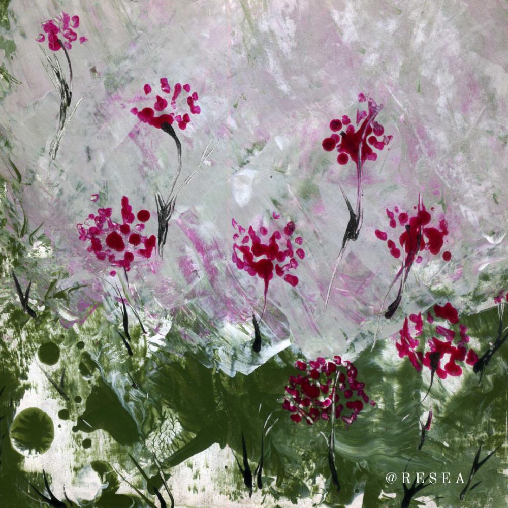 RESEA .. Парящие цветы