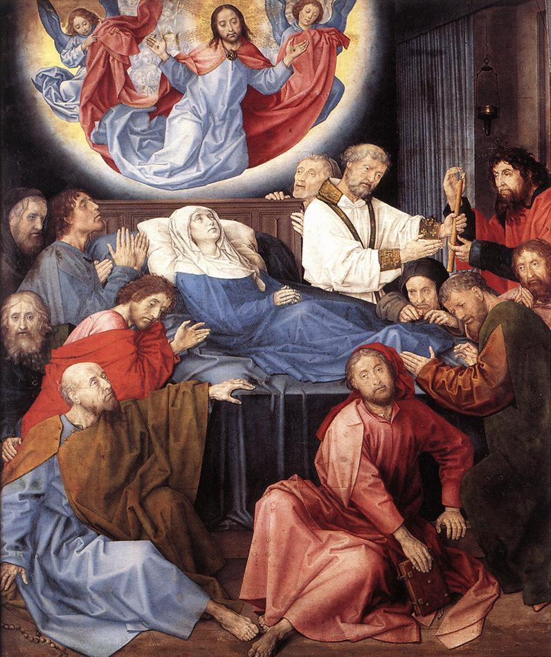 Ван Дер Гоес Гюго. Смерть Марии