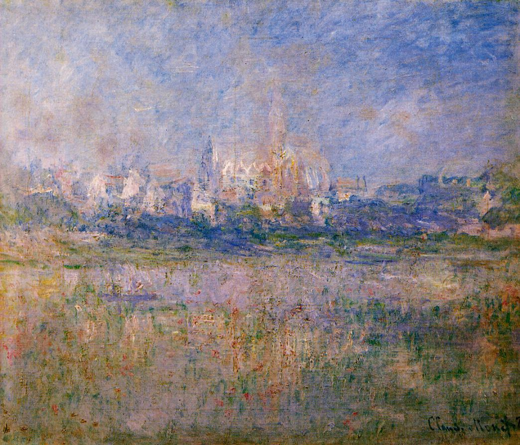 Claude Monet. Vétheuil in the fog
