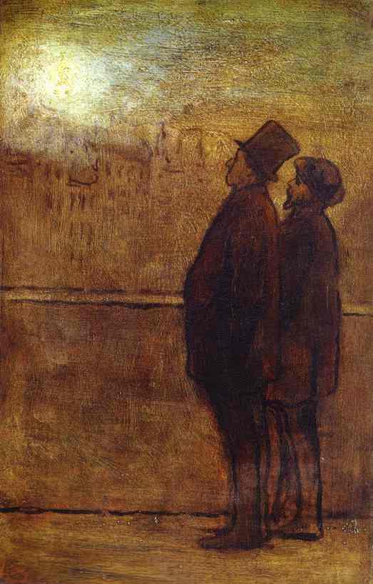 Honore Daumier. Men