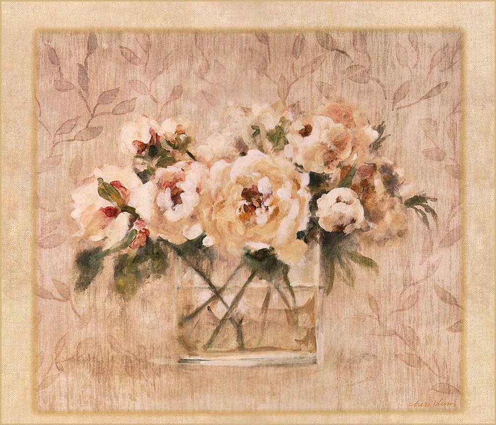 Cheri Blum. White roses