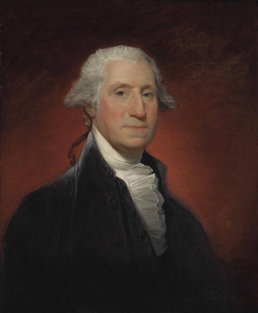 Гилберт Чарльз Стюарт. Джордж Вашингтон
