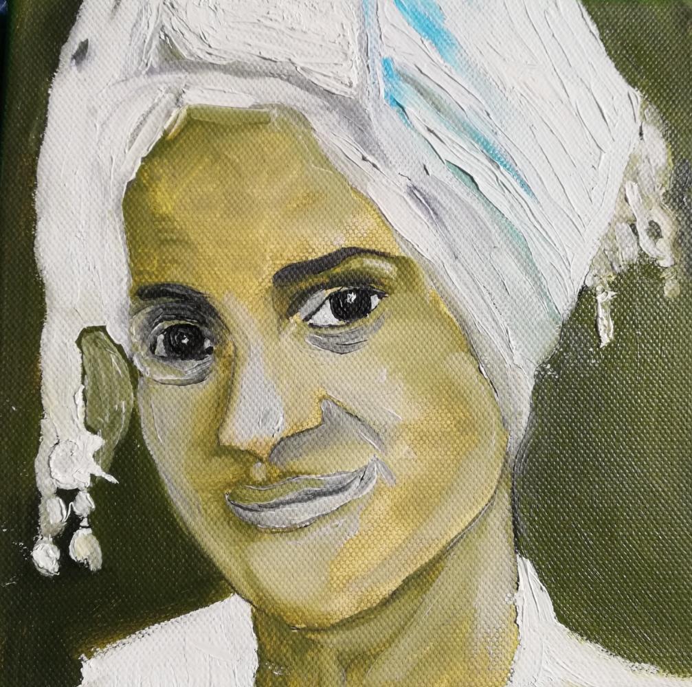 Olga Grig. Portrait