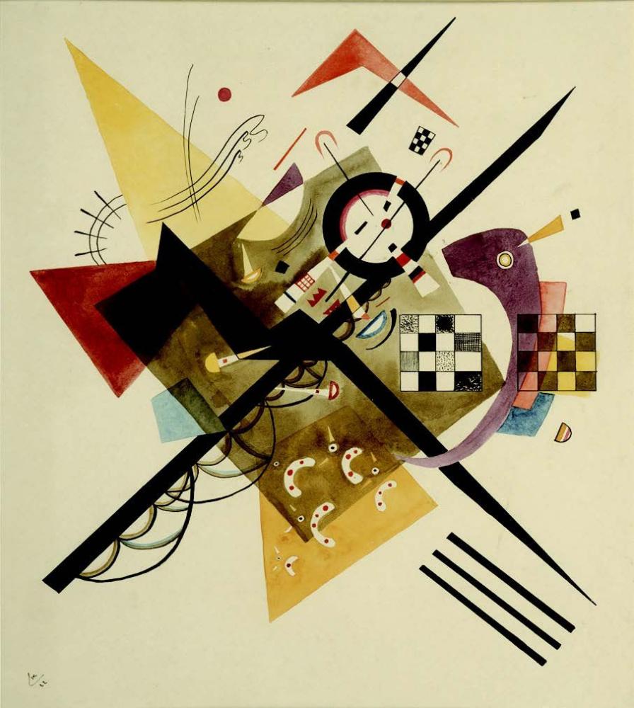 Wassily Kandinsky. In white II