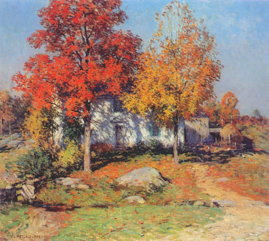 Willard Leroy Metcalfe. October