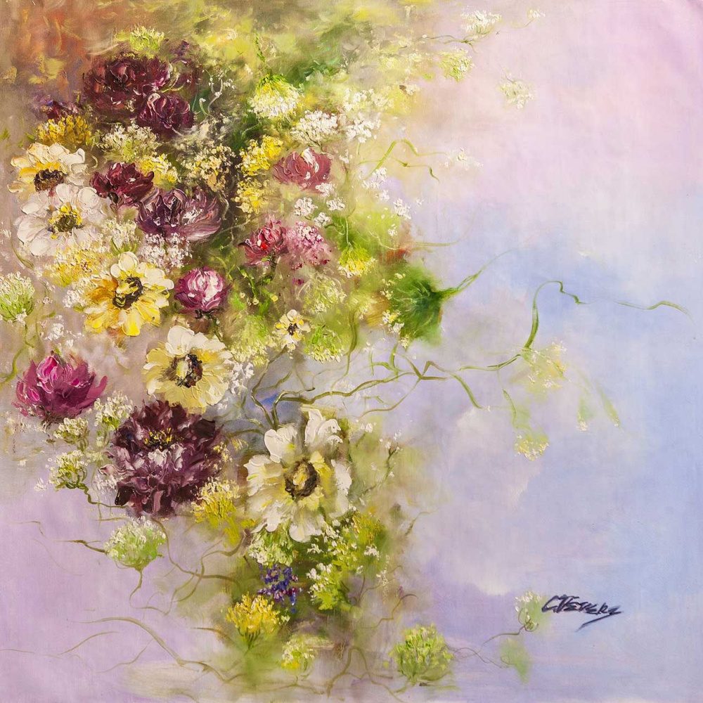 (no name). Melody of spring bouquet