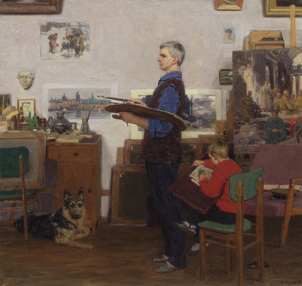 Фёдор Борисович Фёдоров. Father and me. In memory of the artist Boris Fedorov