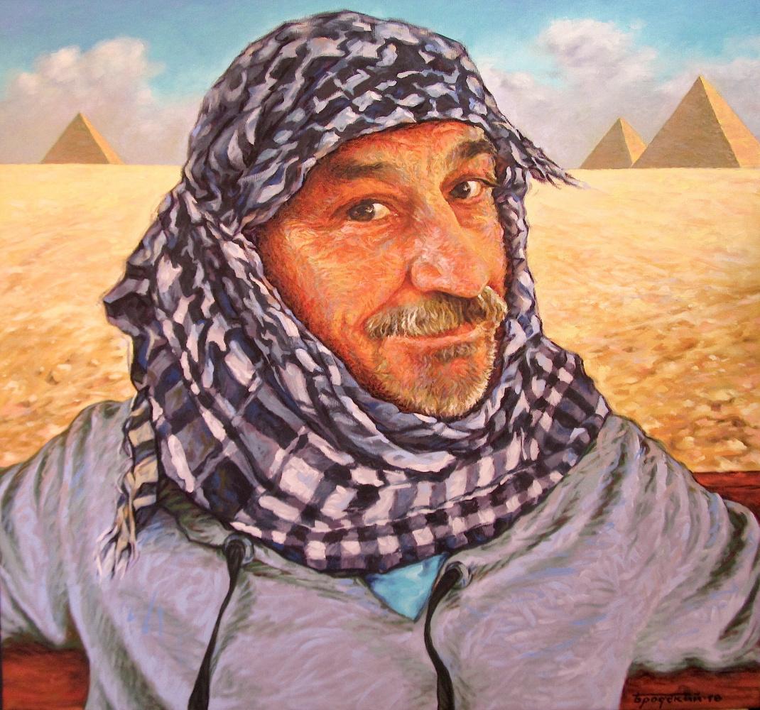David Shikovich Brodsky. Ours in the desert