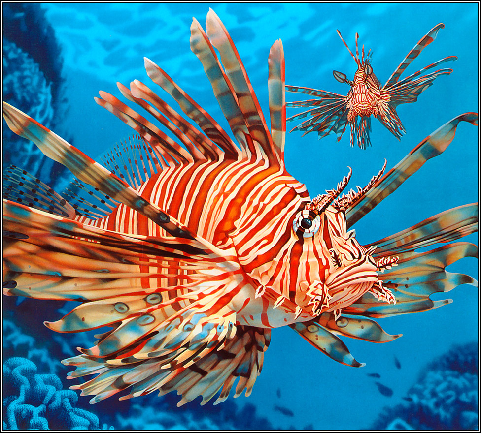 Ego Guiotto. Lion fish