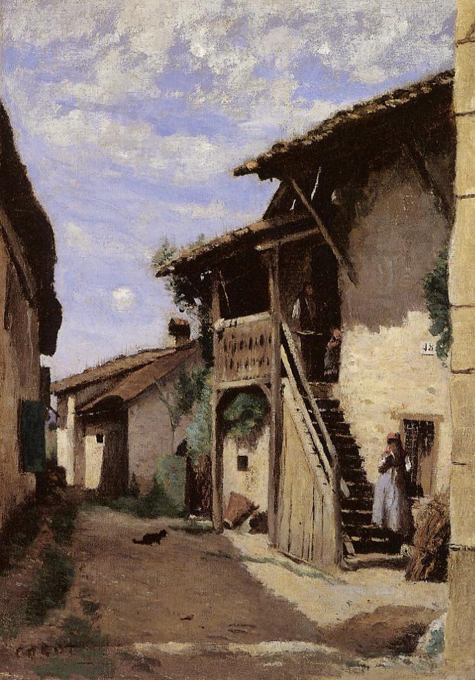 Камиль Коро. Деревня