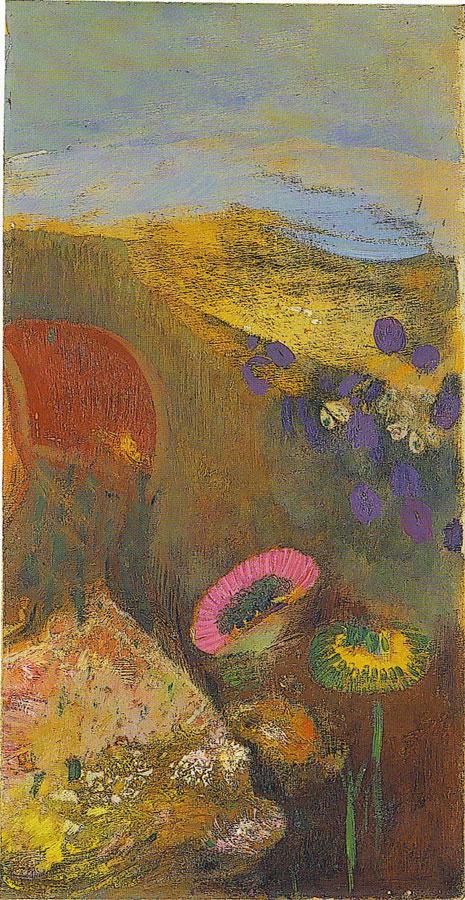 Одилон Редон. Странные цветы