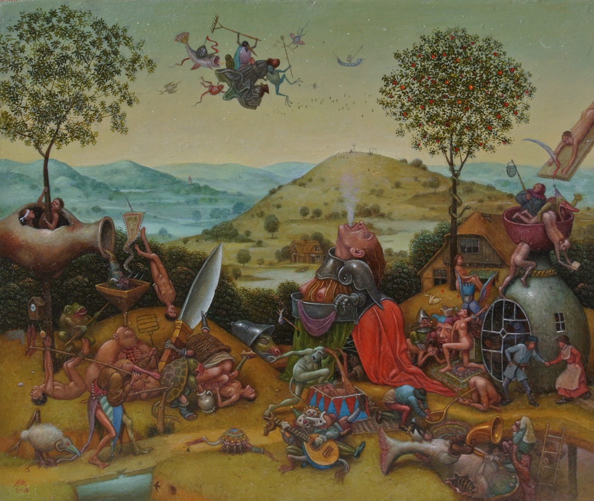 Михаил Лобырев. The temptation of sv. Anthony No. 2