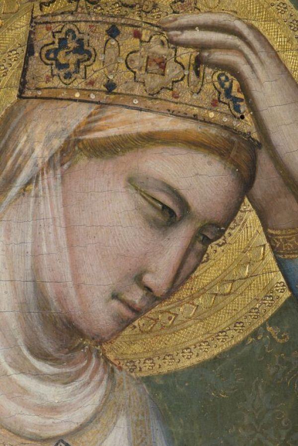 Джотто ди Бондоне. Дева Мария, фрагмент Полиптиха Барончелли