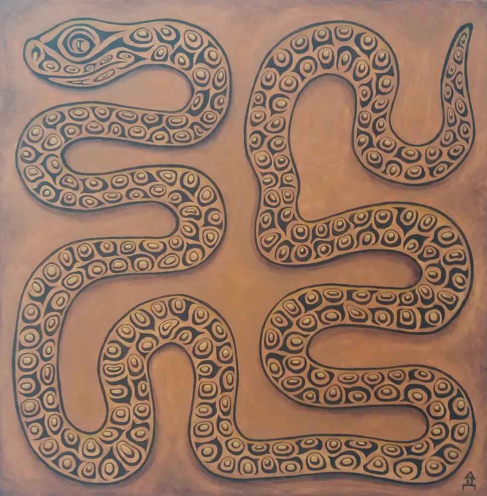 Vlad Kri. Wise snake