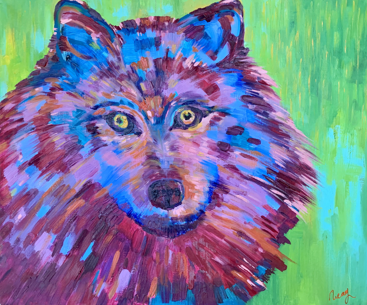 Ekaterina Gladysheva. Dog