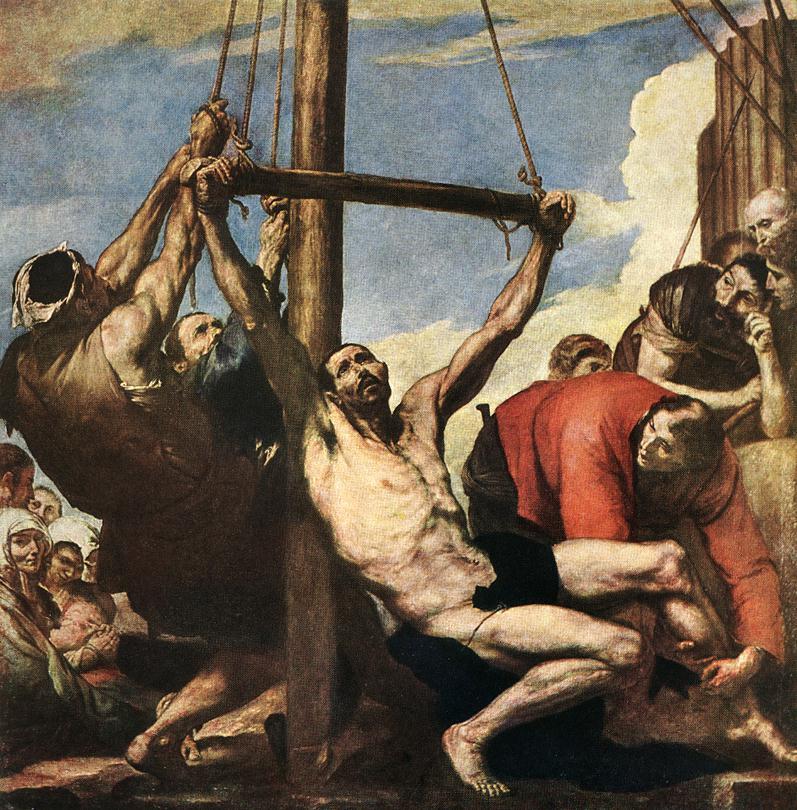 Jose de Ribera. The Martyrdom Of St. Bartholomew