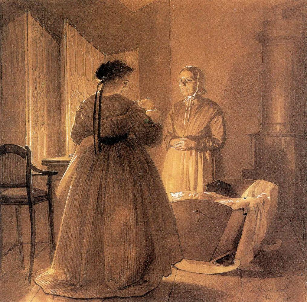 Иван Николаевич Крамской. Семья художника