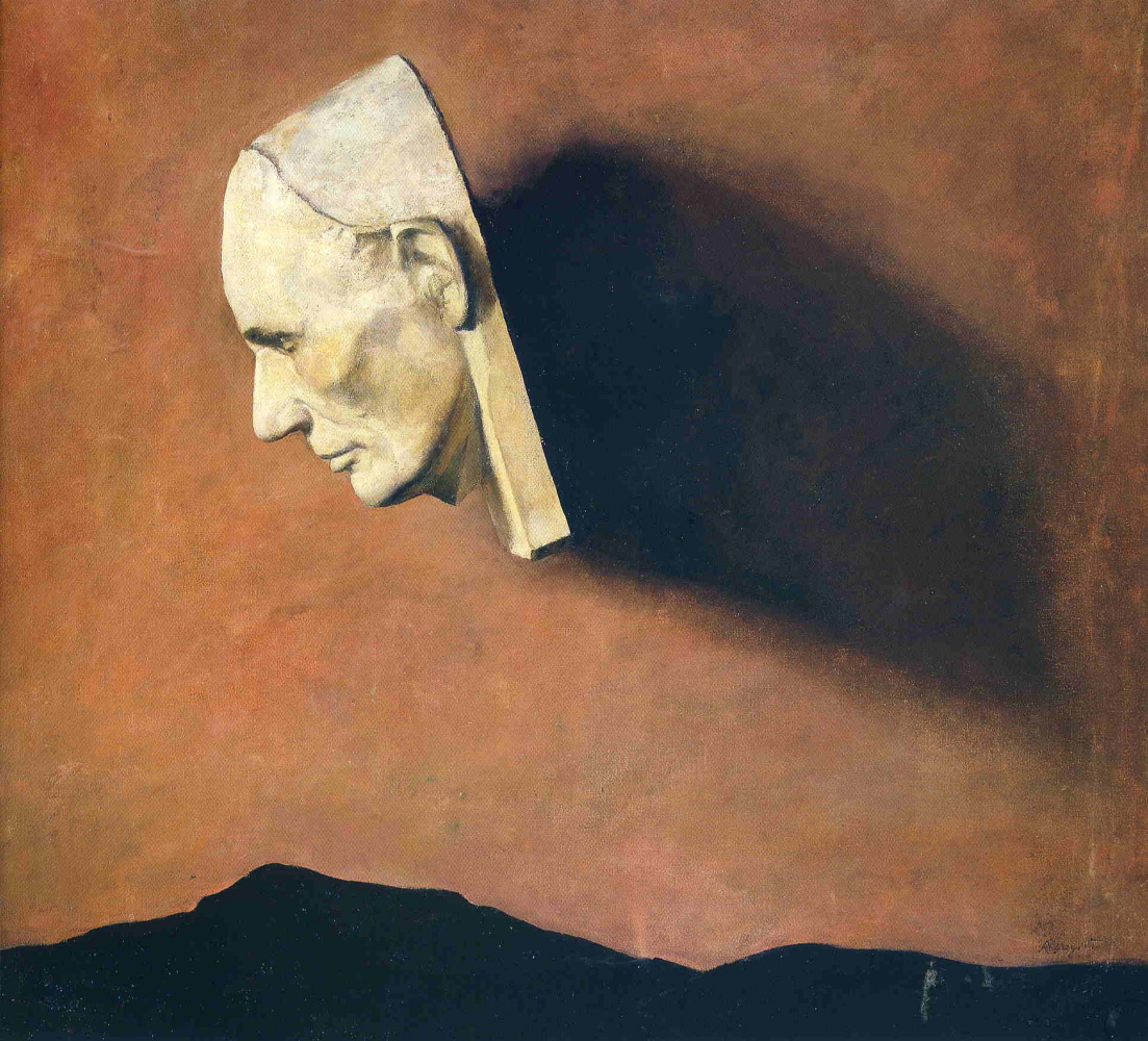 Andrew Wyeth. Death mask of Abraham Lincoln