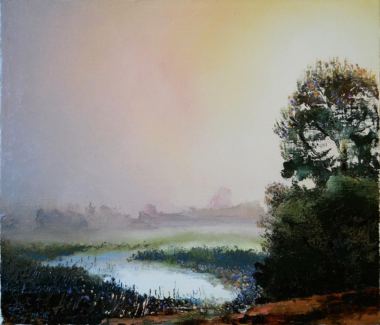 Vadim Anatolyevich Stolyarov. Foggy morning