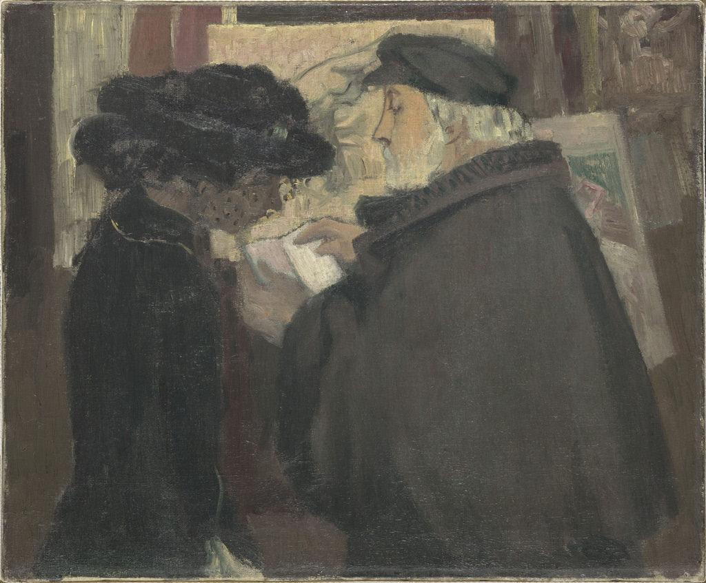 Maurice Denis. Degas model