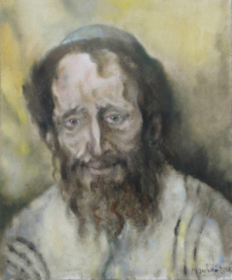 """Michael Yudovsky. """"Portrait of a Rabbi""""."""