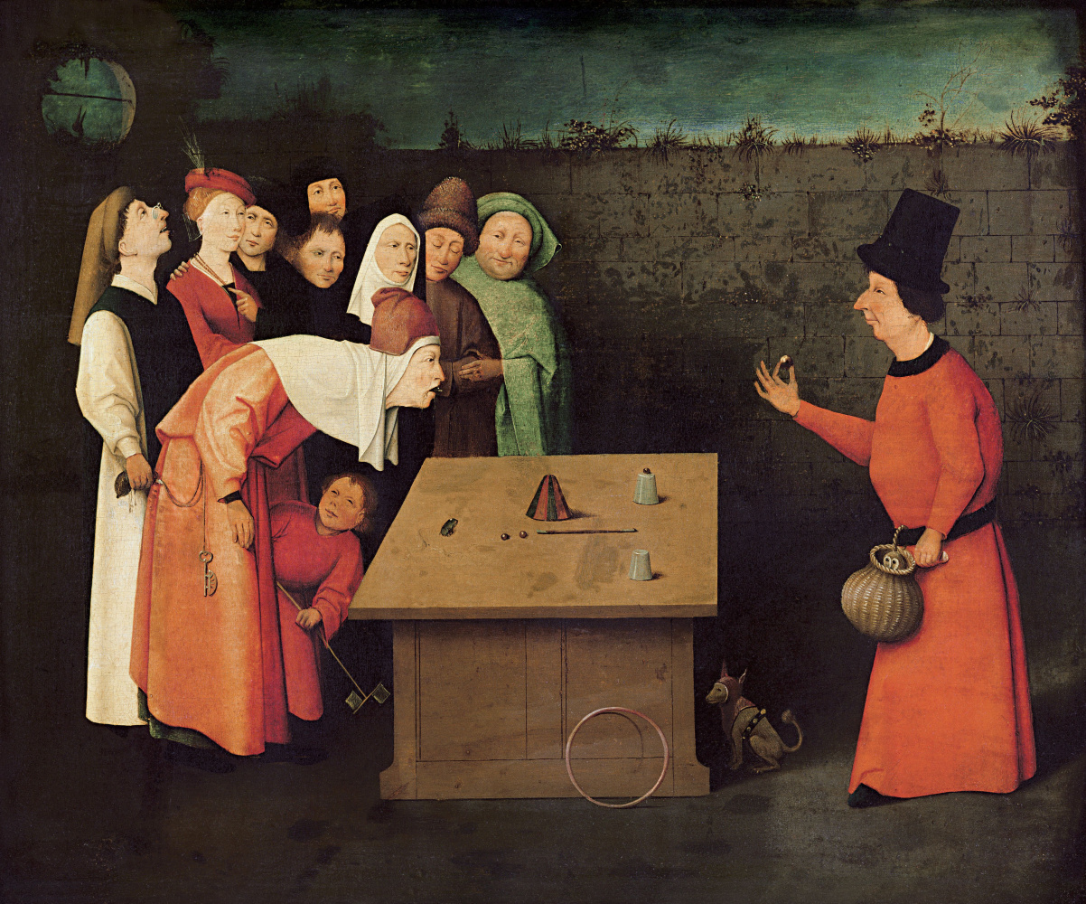 Hieronymus Bosch. The magician