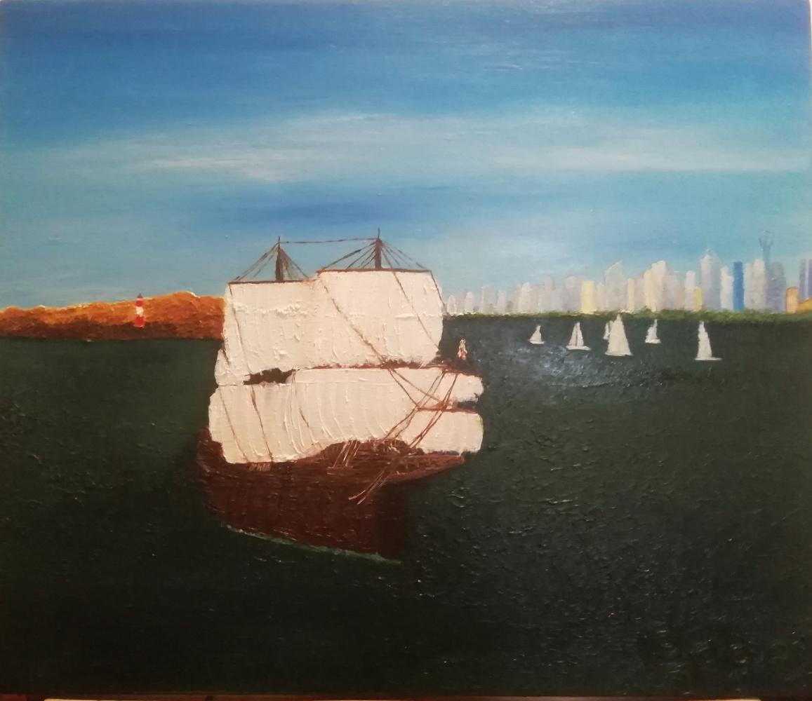 Jack Pigel. Корабль