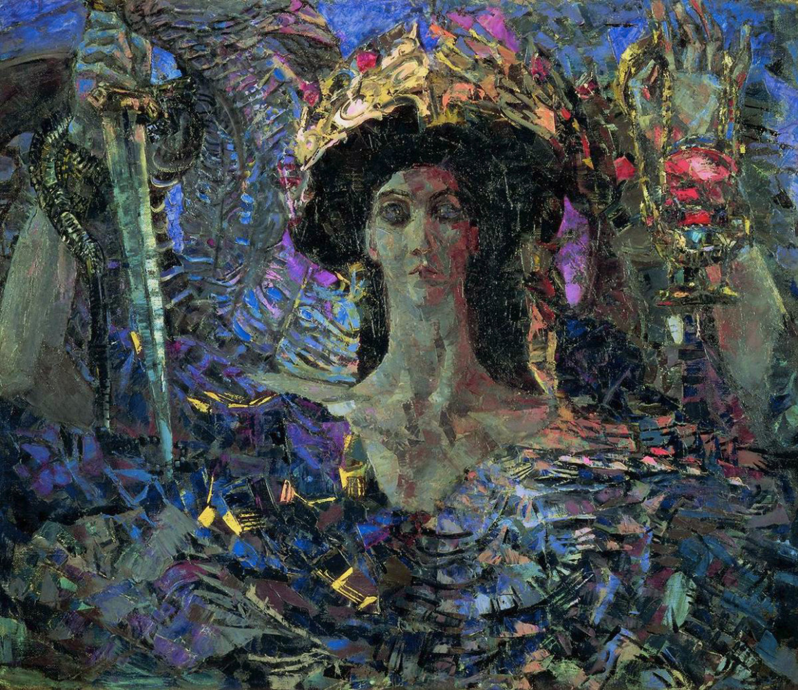 Mikhail Vrubel. The six-winged Seraph (Azrael)