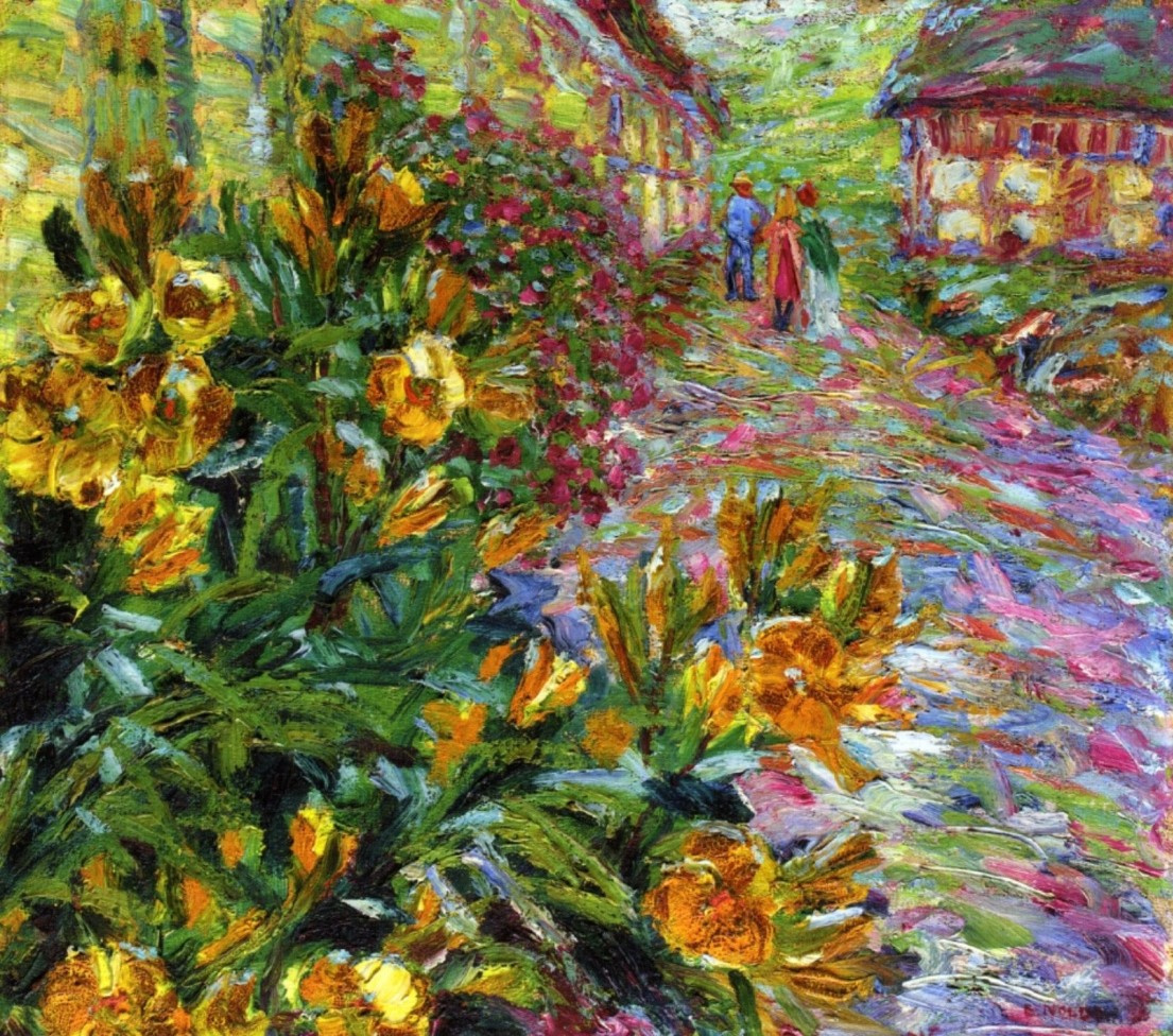 Yellow Flowering Bush By Emil Nolde History Analysis Facts