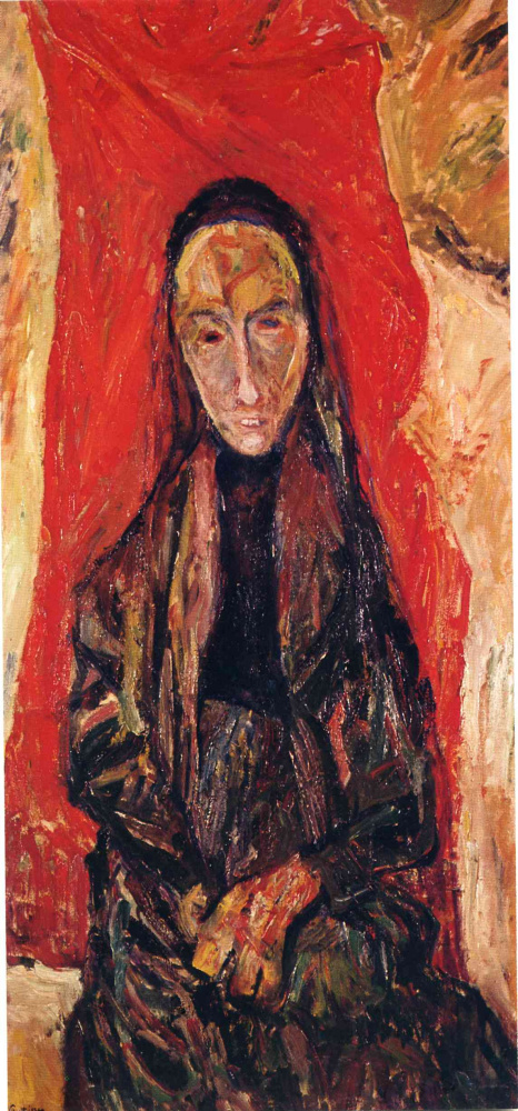 Haim Solomonovich Soutine. Portrait of a widow