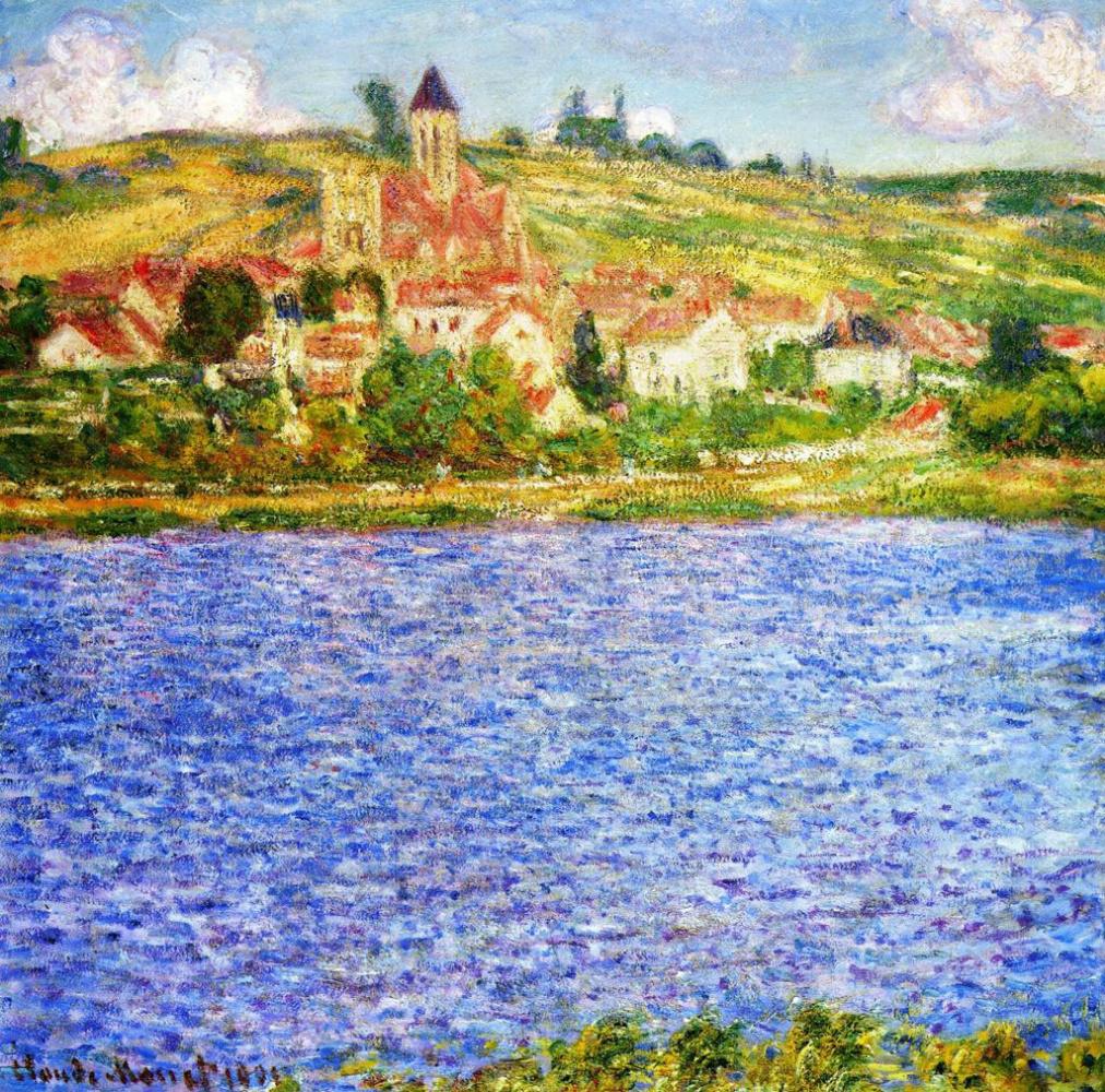 Claude Monet. Vétheuil, noon
