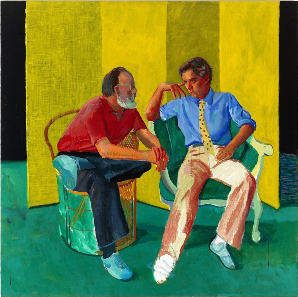 David Hockney. The Conversation